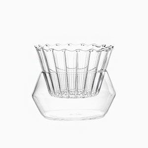 Vase en 2 Parties Splash par Felicia Ferrone pour fferrone, 2018