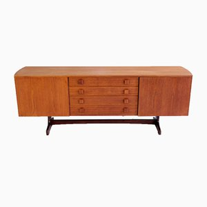 Vintage Teak Credenza by Peter Hayward For Vanson, 1960s
