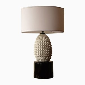 Vintage Murano Glass Table Lamp, 1980s
