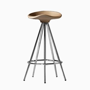 Jamaica Stool H 66 cm Beech Seat by Pepe Cortés for BD Barcelona