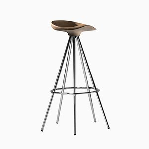 Jamaica Stool H 77 cm Beech Seat by Pepe Cortés for BD Barcelona