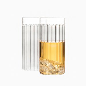Bessho Tall Glasses by Felicia Ferrone for fferrone, 2017, Set of 2