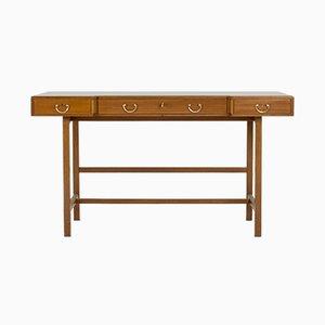 Mahogany Desk by Josef Frank for Svenskt Tenn, 1960s