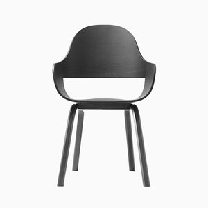 Showtime Nude Chair Stained Black by Jaime Hayon for BD Barcelona