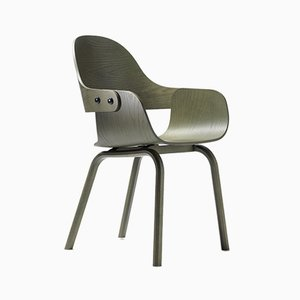 Showtime Nude Chair Stained Green by Jaime Hayon for BD Barcelona