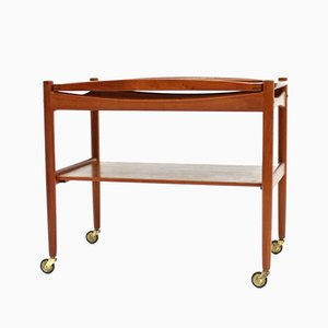 Teak Trolley by Poul Hundevad, 1960s