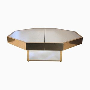 Table Basse Octogonale, 1970s