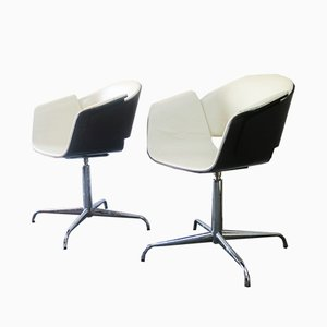 Rondo Swivel Chairs by Jonathan Scherk, Kai Stania, and Christian Horner for Bene, 2006, Set of 4