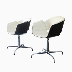 Rondo Swivel Chairs by Jonathan Scherk, Kai Stania, and Christian Horner for Bene, 2006, Set of 4