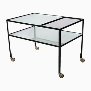 Serving Cart by Herbert Hirche for Christian Holzäpfel KG, 1960s