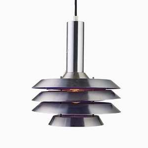 Lampe à Suspension Numéro 705 par Bent Karlby pour Lyskær Belysning, 1970s