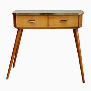 Petite Table Console en Erable & Orme, 1950s