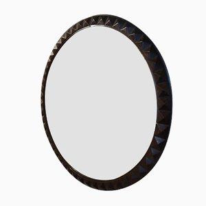 Espejo francés de caoba, años 30