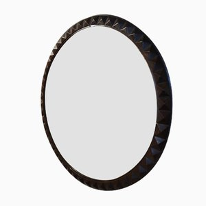 French Mahogany Mirror, 1930s