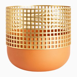 Medium Mia Vase in Terracotta by Serena Confalonieri for Mason Editions