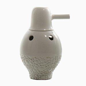 Showtime Vase Nº 1 Innen und Außen in Weiß von Jaime Hayon für BD Barcelona