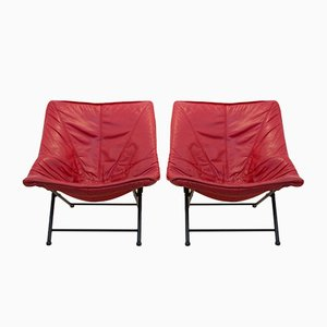 Easy Chairs by Teun Van Zanten for Molinari, 1970s, Set of 2