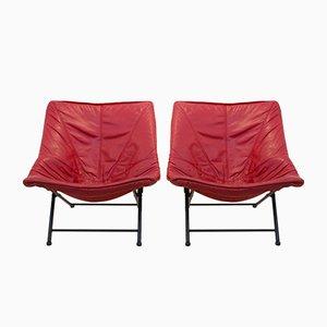 Easy Chairs by Teun Van Zanten for Molinari, 1970s, Set of 2