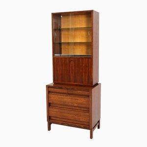 Mueble bar Mid-Century Modern de palisandro, años 60