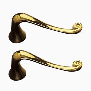 Batlló Door Handles by Antoni Gaudí for BD Barcelona, Set of 2