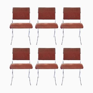 French Dining Chairs from Maison Jansen, 1960s, Set of 6