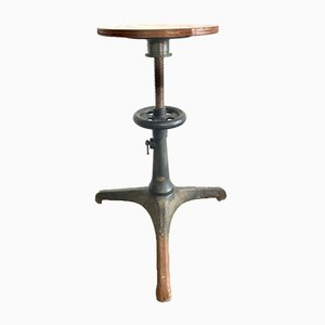 Antique Tripod Telescope Stool by Carl Zeiss