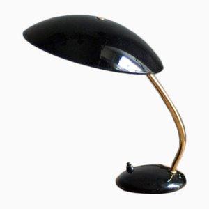 Schwarze Vintage 6781 Schreibtischlampe von Christian Dell für Kaiser Idell