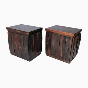 Vintage Model Barium Bedside Tables by Luciano Frigerio for Desio, Set of 2