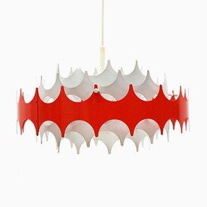 Pendant Lamp in Openwork Metal from Doria Leuchten, 1960s
