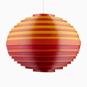 Lámpara colgante Dynamic de Wilhelm Vest para Vest Leuchten, 1967