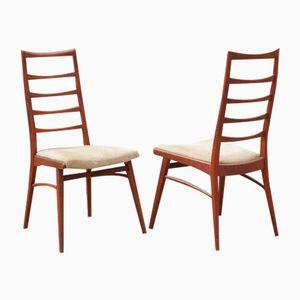Esszimmerstühle von Niels Koefoed für Koefoeds Hornslet, 1960er, 2er Set