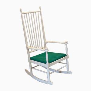 Rocking Chair Isabella à Dossier Haut par Karl-Axel Adolfsson pour Gemla DIO, 1950s