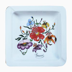 Flora Series Ashtray from Gucci, 1970s