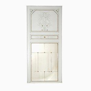 Antiker französischer Trumeau Spiegel