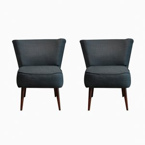 Cocktail Chairs, 1970s, Set of 2