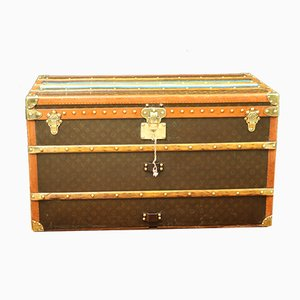 Monogram Steamer Trunk from Louis Vuitton, 1930s