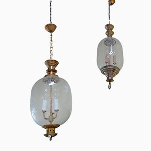 Pendant Lamps by Luigi Caccia Dominioni for Azucena, 1950s, Set of 2