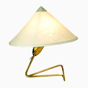 Mid-Century Austrian Brass Wall or Table Lamps by Rupert Nikoll, Set of 2