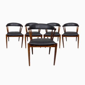 Dining Chairs by Johannes Andersen for Samcon, 1960s, Set of 5