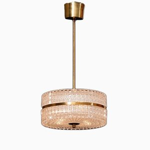 Ceiling Lamp by Carl Fagerlund for Orrefors, 1960s