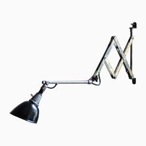 Vintage DRGM 110 Scissor Lamp by Curt Fischer for Midgard