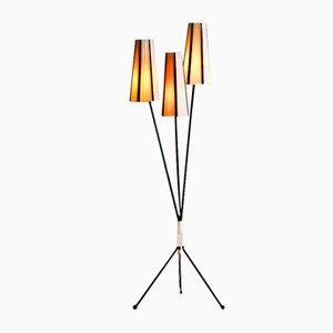 Schwedische Stehlampe, 1950er