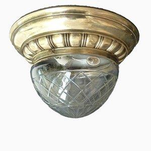 Lampada da soffitto Art Nouveau Liberty, anni '30