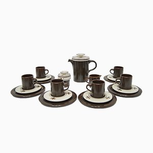 Siesta Coffee Set by Bjorn Wiinblad for Rosenthal Studio Line, 1980s