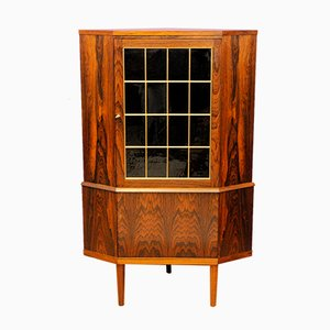 Mueble esquinero danés vintage de palisandro