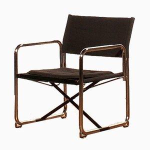 Folding Chair by Börge Lindau & Bo Lindecrantz for Lammhults, 1970s