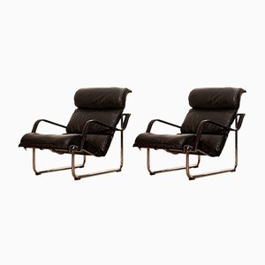 Remmie Lounge Chairs by Yrjo Kukkapuro for Avarte, 1970s, Set of 2