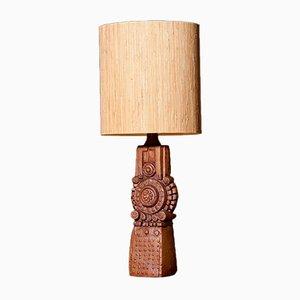 Lampada da tavolo vintage in ceramica di Bernard Rooke