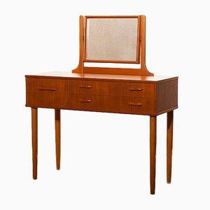 Teak Dressing Table from Ulferts Sweden, 1950s