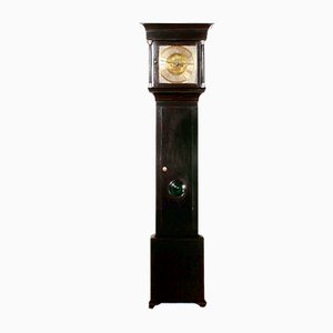 Vintage Black Polished Standing Clock from IWM